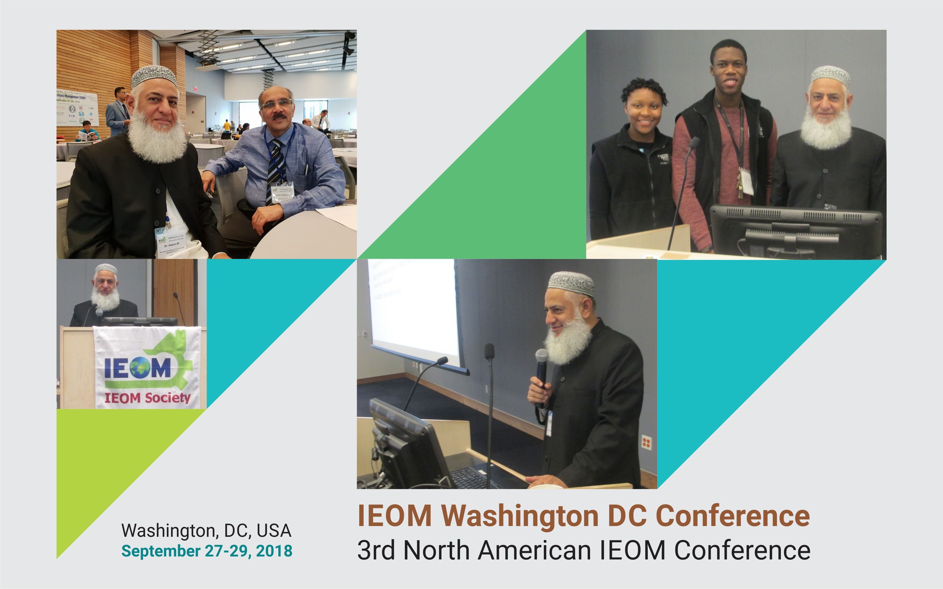 Dr. Anjum Ali: Distinguished Speaker at IEOM Washington DC Conference