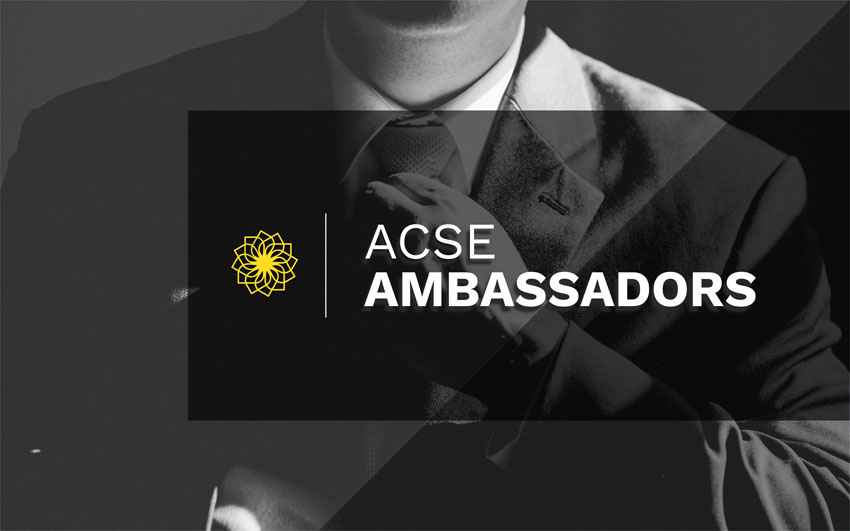 Presenting The New ACSE Ambassadors