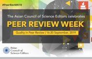 Celebrating 5th Peer Review Week at ACSE!