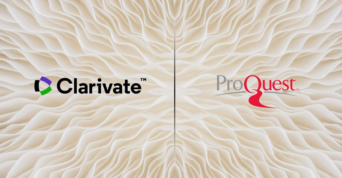 Clarivate-ProQuest landscape and its effects on Library Market