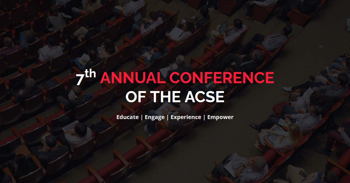 7<sup>th</sup> Annual Conference of The ACSE