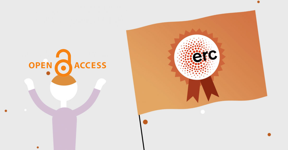 Effects of Open Access promoting policies of European Research Council